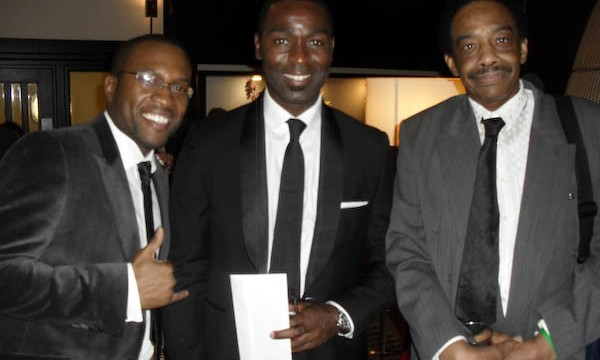NSOCA delegation with ex-Man Utd footballer- Andy Cole